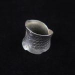 Fine Silver Koi Fish Wrap Ring 'Koi Wrap'
