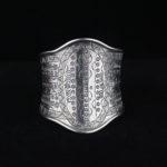 Silver Statement Cuff Bracelet - Stellar Dreams