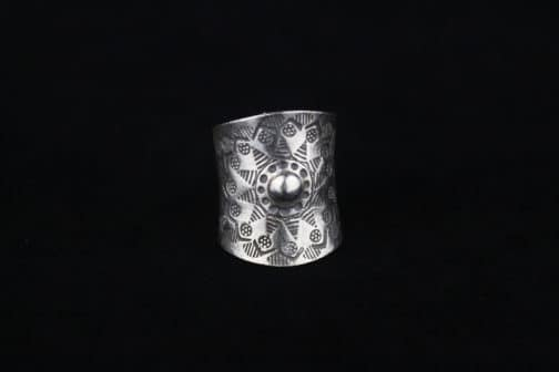 Silver Blooming Flower Wrap Ring