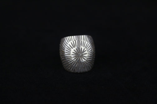 Tribal Sunrise Silver Artisan Ring