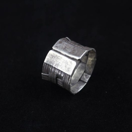 Fine Woven Silver Artisan Ring 'Classic Woven'