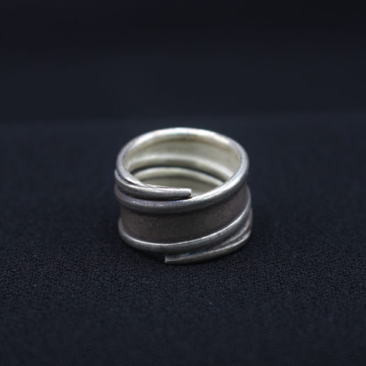 Thai Silver Swirl Ring 'Thai Swirl'