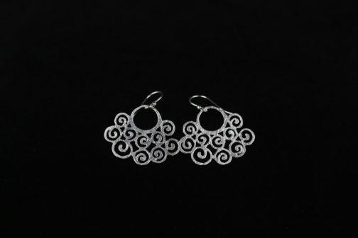 Silver Statement Earrings for Women