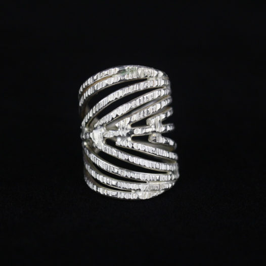 Unique Handmade Silver Ring for Women-1