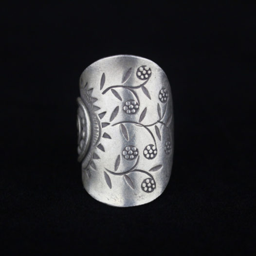 Silver Statement Ring for Women 'Natural Harvest'