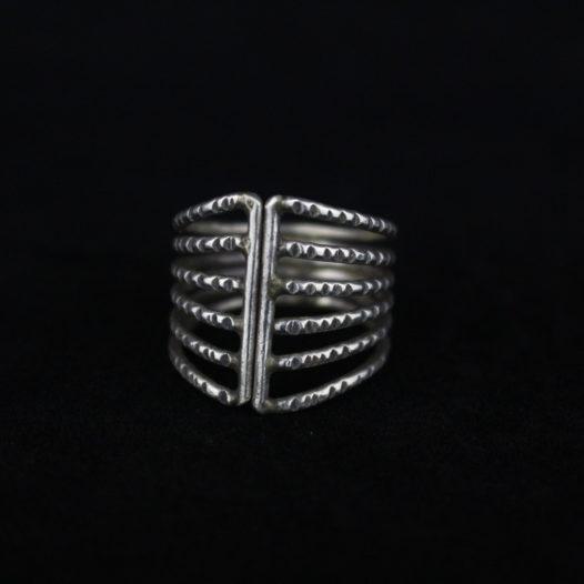 Sterling Silver Veil Ring for Women 'Silver Veil'