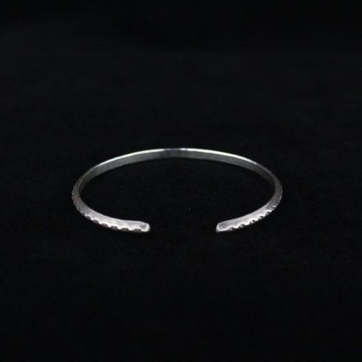 Tribal Flora Silver Bracelet