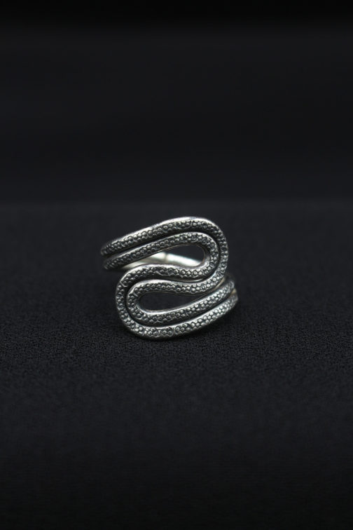 'River Bend' Silver Ring for Women