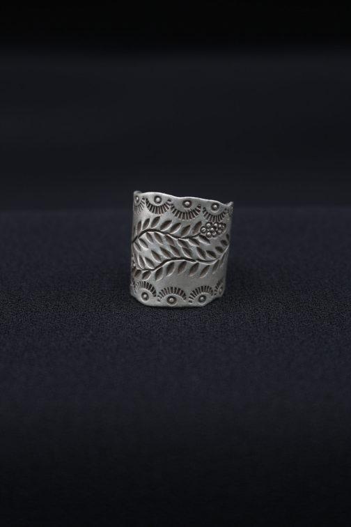 Double Vine Silver Artisan Ring For Women