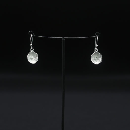 Silver Bloom Earrings for Women